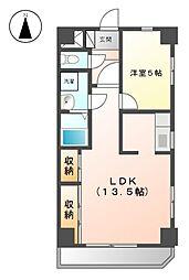 レジデンス安藤II[4階]の間取り