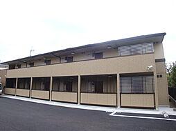 兵庫県宝塚市川面5丁目の賃貸アパートの外観