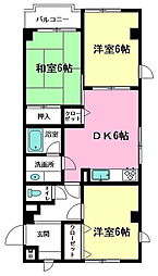 レリーフハイツ竹ノ塚[5階]の外観