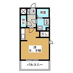 メゾン'Q'[3階]の間取り