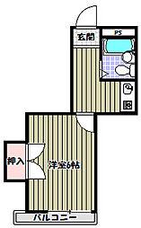 エレガンスくみの木[3階]の間取り