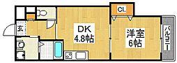 リアライズ堺駅前[11階]の間取り