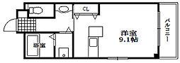 ジェイズマンション[3階]の間取り
