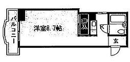 SAMSQUARE銀閣寺道[403号室号室]の間取り