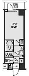 東京都江東区平野2丁目の賃貸マンションの間取り