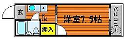プレアール東古松[2階]の間取り