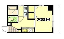 スタシオン電車みち[11階]の間取り