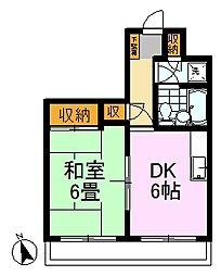 新高島平駅 6.5万円