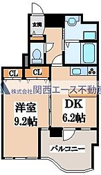 GRAZIO日本一[6階]の間取り