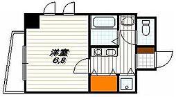 グランドパレス京都烏丸五条[9階]の間取り