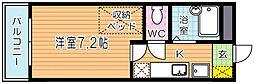 レオパレスSHIBATAIII[3階]の間取り