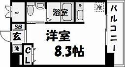ダイドーメゾン阪神西宮[6階]の間取り
