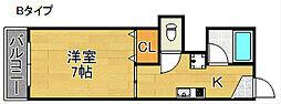シータイガーI[2階]の間取り