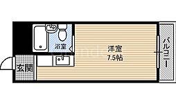 京阪グローリーハイツ[2階]の間取り