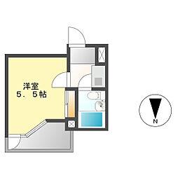 コートハウス1[4A号室]の間取り
