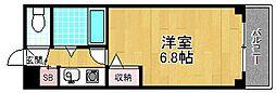 ラピュタ牧野阪[1階]の間取り