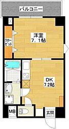 エクセル新大阪[303号室]の間取り