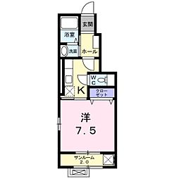 スプレンディドY[1階]の間取り
