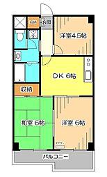 フロ−レンスMORITA[2階]の間取り