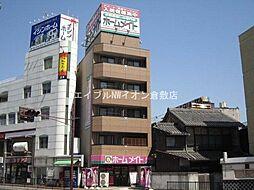 岡山県倉敷市阿知2の賃貸マンションの外観