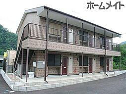 岐阜県加茂郡坂祝町取組の賃貸アパートの外観