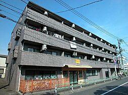 東京都調布市東つつじケ丘2丁目の賃貸マンションの外観