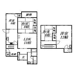 [一戸建] 静岡県浜松市南区石原町 の賃貸【/】の間取り