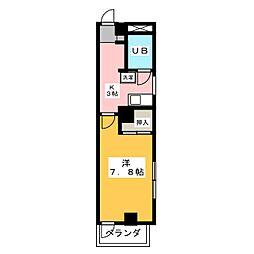 鷹二山梨ビル[4階]の間取り