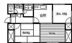 [一戸建] 宮崎県延岡市塩浜町2丁目 の賃貸【/】の間取り