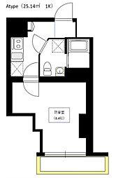 Bel Canto 浅草蔵前[11階]の間取り