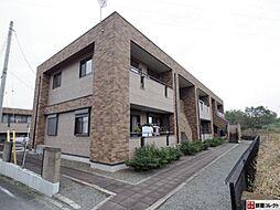 群馬県渋川市有馬の賃貸アパートの外観