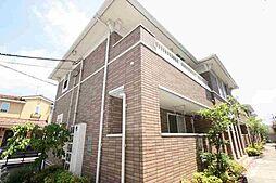 広島県福山市御幸町大字中津原の賃貸アパートの外観