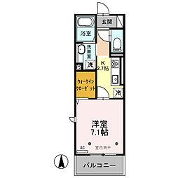 プレミストIII[2階]の間取り