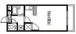 メモリアルハイツ[1階]の間取り