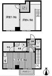 フィラ新百合ヶ丘[2階]の間取り