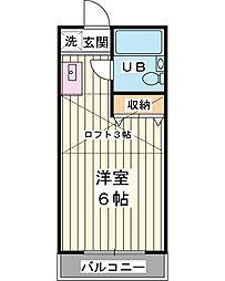 SERA新浦安[2階]の間取り