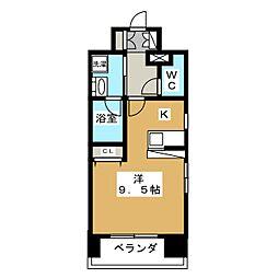 ベラジオ烏丸御池II[7階]の間取り