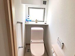 洗浄機能付きのトイレです