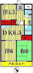 第8泉マンション[5階]の間取り