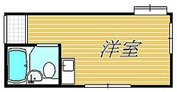 TCRE初台 B棟[2階]の間取り