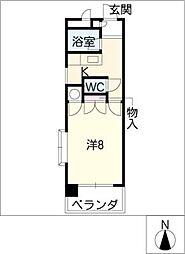 アレフI[3階]の間取り