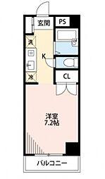 クレセントKOYO[2階]の間取り
