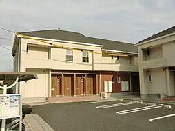 鹿児島県霧島市隼人町神宮3丁目の賃貸アパートの外観