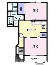 Y−キャビンA[103号室]の間取り