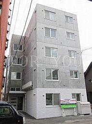 北海道札幌市中央区南八条西8丁目の賃貸マンションの外観