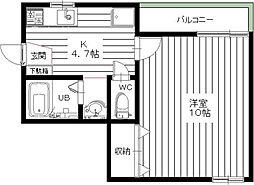メゾン・ドルチェ(西荻窪)[2階]の間取り