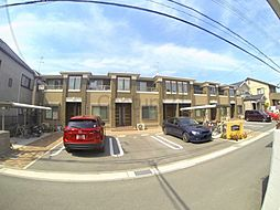兵庫県伊丹市東野4丁目の賃貸アパートの外観