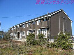 三重県度会郡玉城町勝田の賃貸アパートの外観