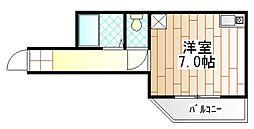 神奈川県相模原市中央区共和1丁目の賃貸アパートの間取り