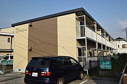 千葉県市川市南大野2丁目の賃貸アパートの外観